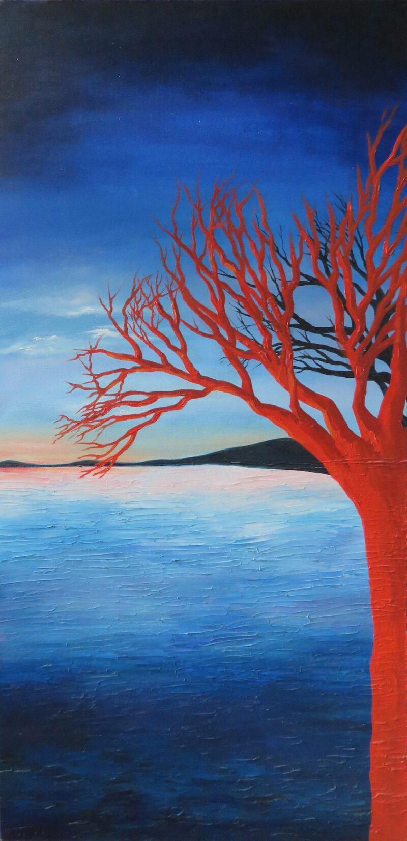 El árbol naranja