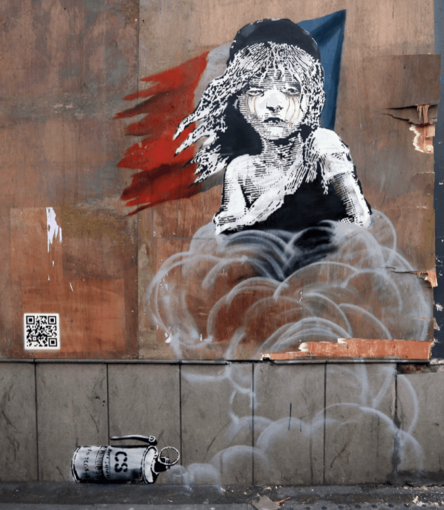 Cosette Londres 2016 banksy