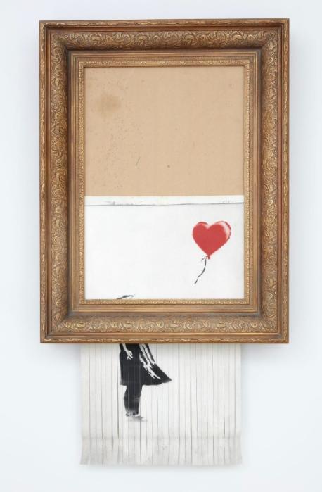 Obra de Banksy en Sothebys